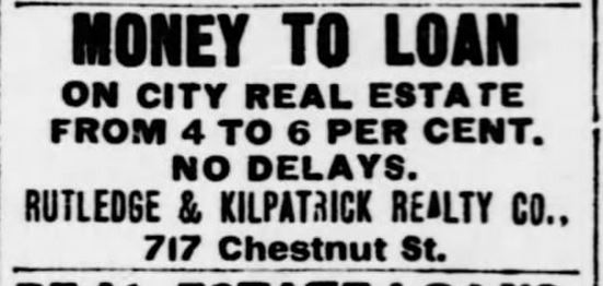 STL Republican June 10 1900 interest rates